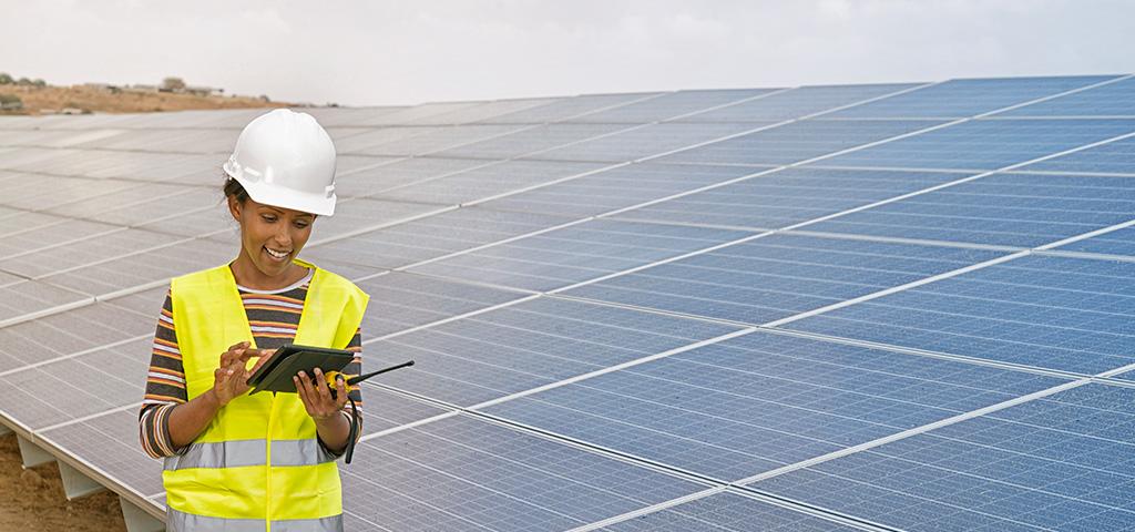 Solaranlagen in Afrika