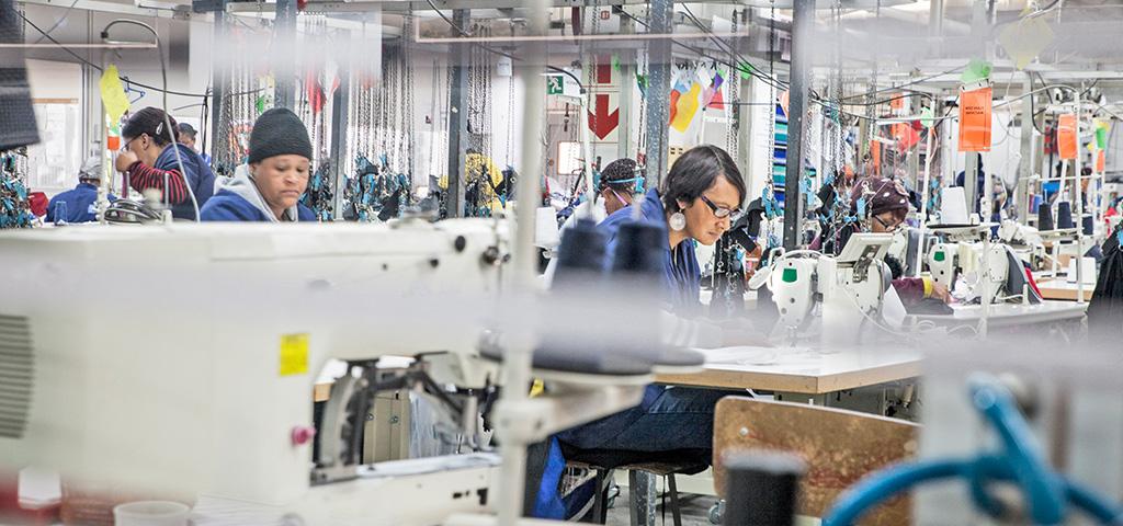 Textilarbeiterinnen in Äthiopien