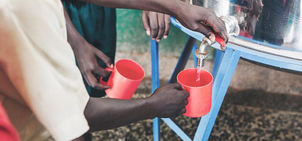 Wasserversorgung und Aufbereitungsanlagen sind zentrale Themen in Afrika.