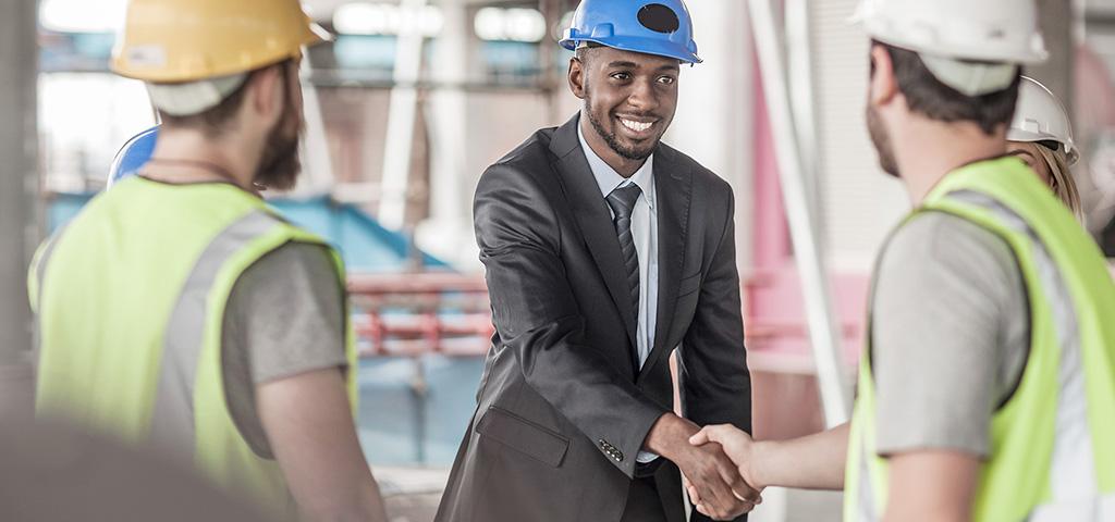 Die Infrastruktur Afrikas wird kontinuierlich ausgebaut.