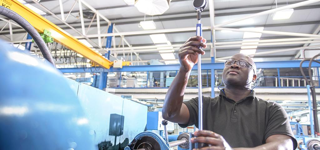 Der Maschinen- und Anlagenbau Afrikas erfordert Lösung für den lokalen Markt.