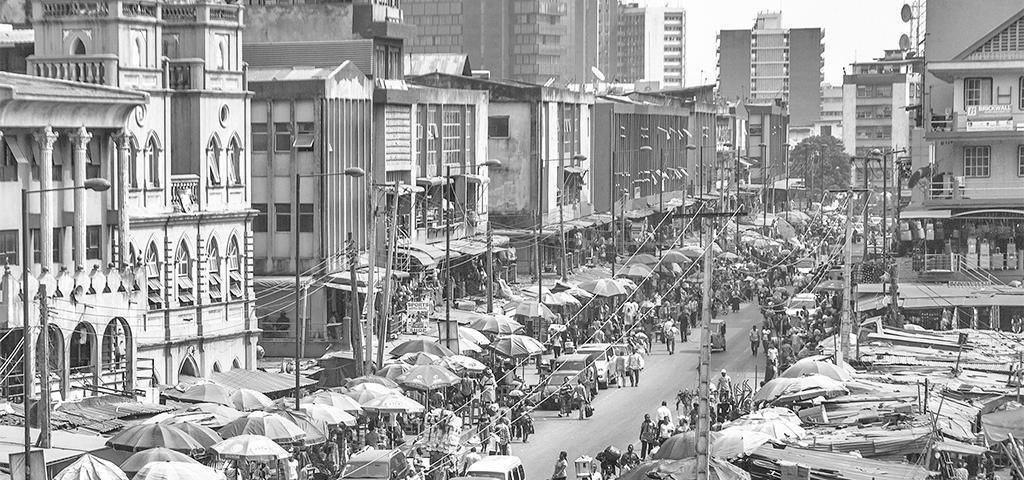 Nigeria, Lagos, Markt