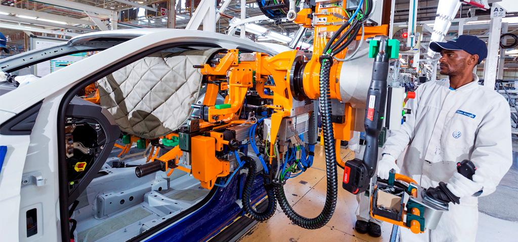 Automobilbranche: Eindruck aus der täglichen Arbeit im VW-Werk Südafrika