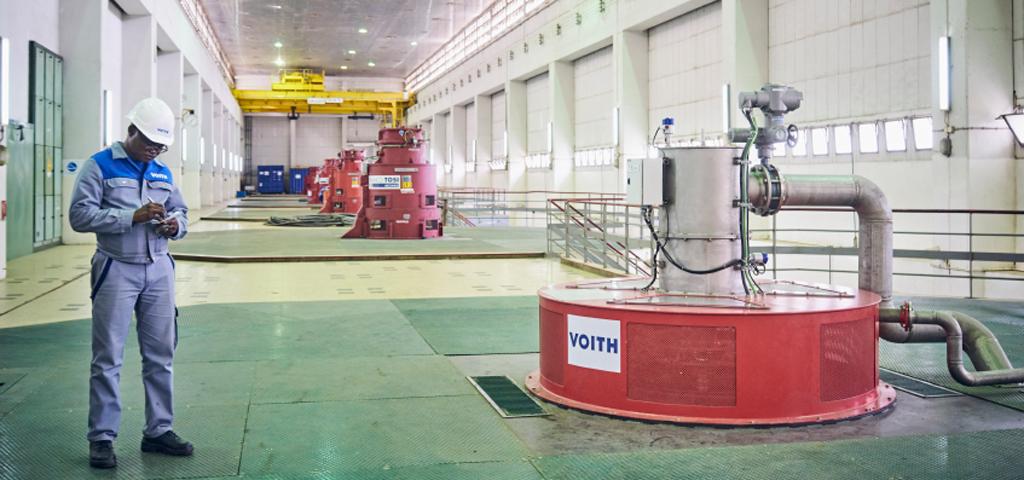 Kraftwerk der Voith Group