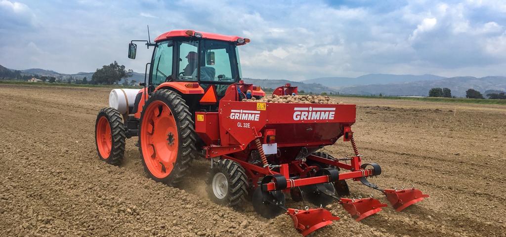 Kartoffelernte | GRIMME Landmaschinenfabrik GmbH & Co. KG